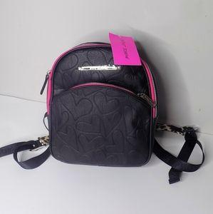 Betsey Johnson Backpack Purse